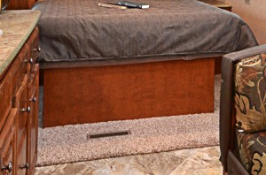 Bedroom Carpet with Pad