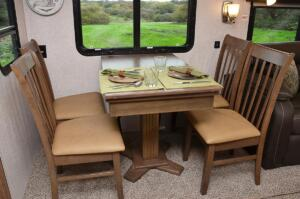 Free Standing Table with Chairs