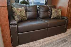 Tri-Fold Sofa with Pillows
