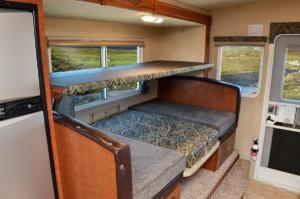 Overhead Bunk in Dinette