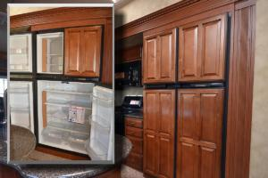18 Cu Ft Fridge and Panels