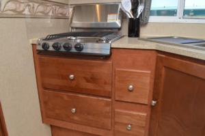 2 LG Drawers Under Cooktop