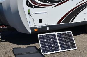 80 Watt Portable Solar Panel Kit